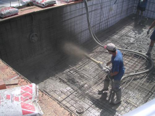 Ibericapool gunitado piscina for Construccion de piscinas de concreto