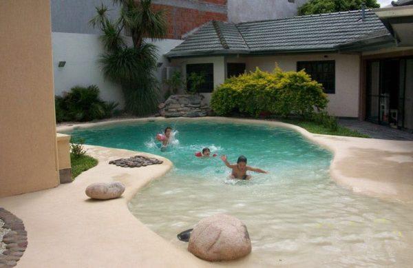 Piscinas ibericapool construcci n de piscinas de arena - Precio piscinas de arena ...