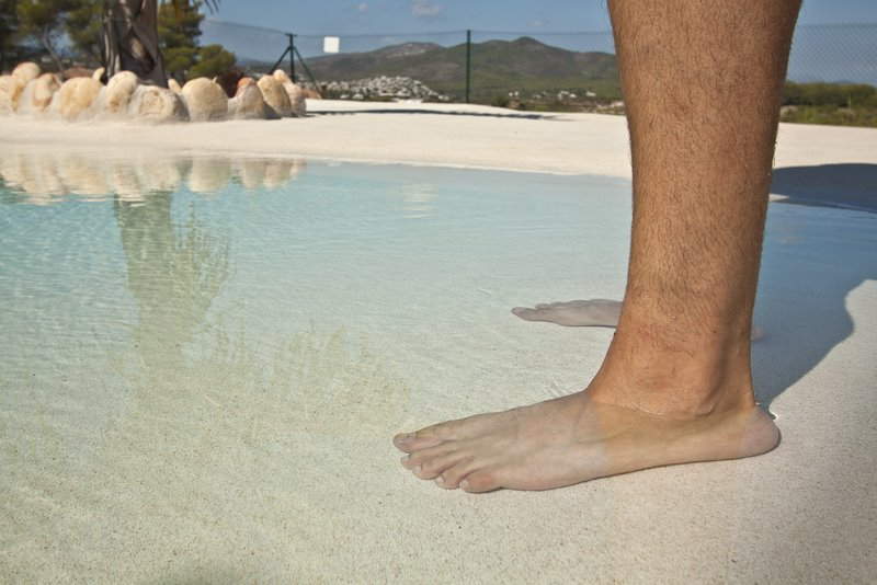 Ibericapool arena piscina tipo playa - Piscina tipo playa ...