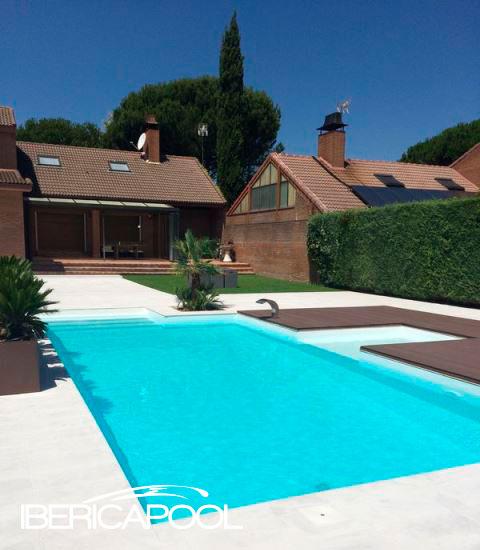 Ibericapool piscina en boadilla del monte for Piscinas en alcampo 2016