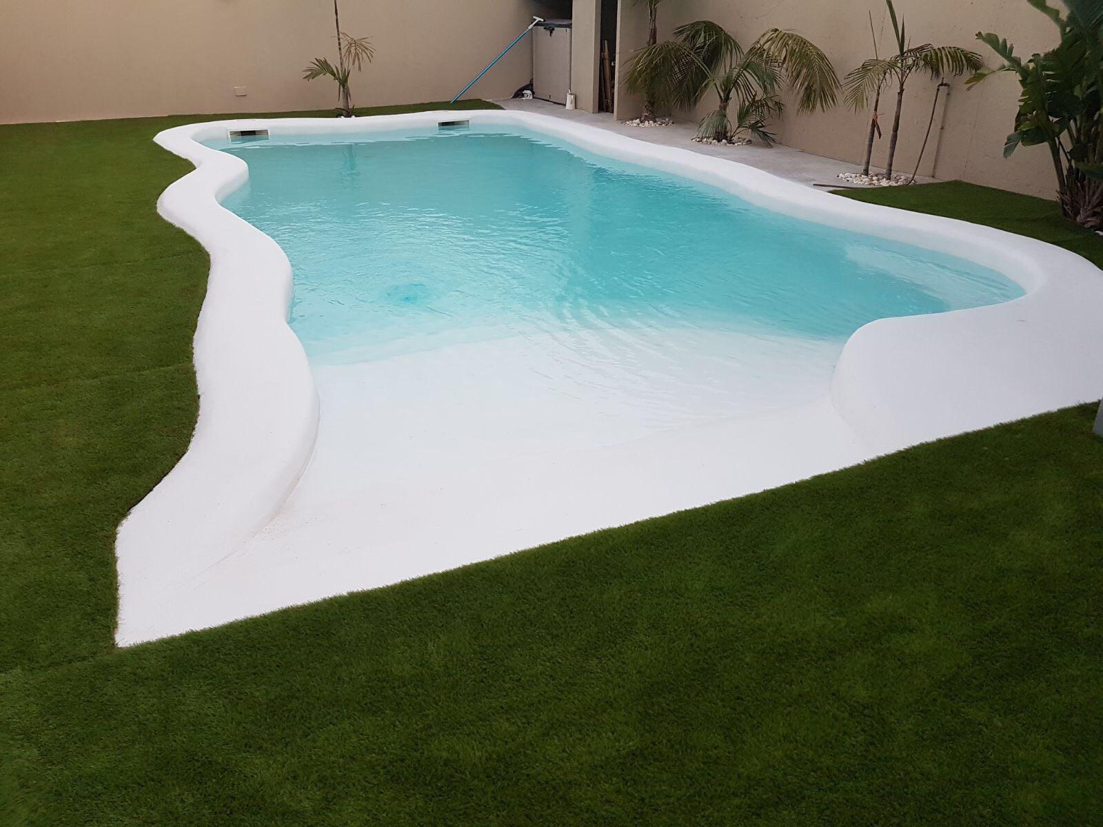 Como se construye una piscina de arena stunning permetro for Como se construye una piscina