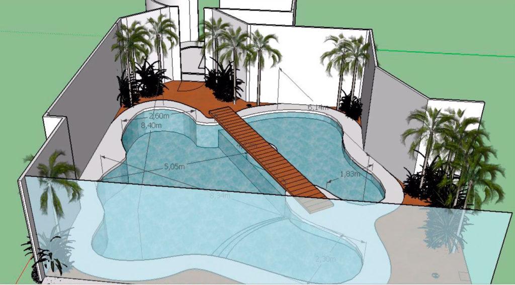Piscinas ibericapool piscina gran hermano revolution for Planos estructurales de piscinas