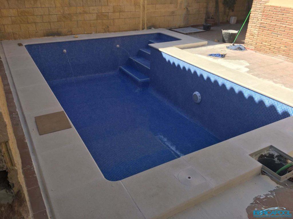 Ibericapool piscina de obra 6x3 en algeciras - Presupuestos de piscinas de obra ...